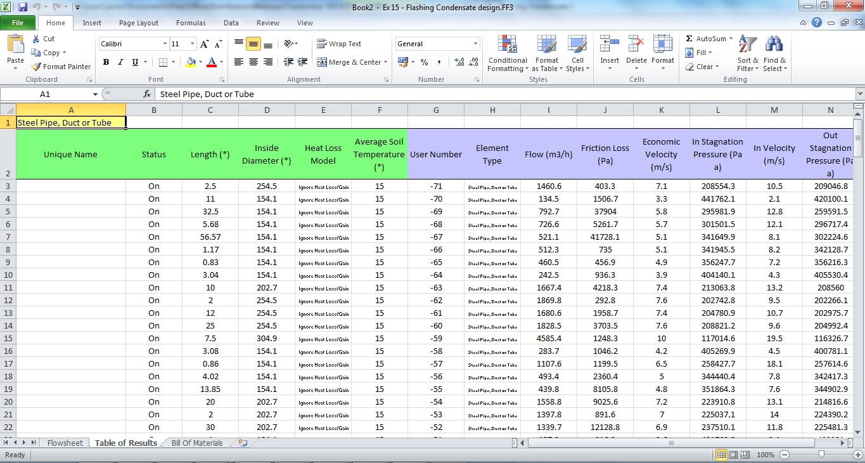 FluidFlow Pressure Drop Software Product Overview | FluidFlow