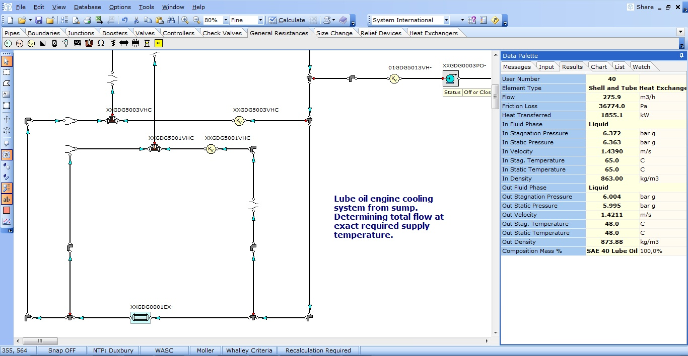 Fluidflow Thermal Energy Transfer Software Fluidflow